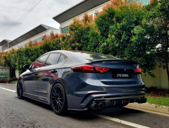 Hyundai Elantra Sport Modified