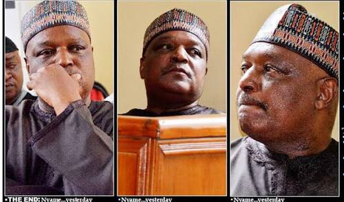Jailed Ex-Governor Nyame Begs To Be Released From Prison