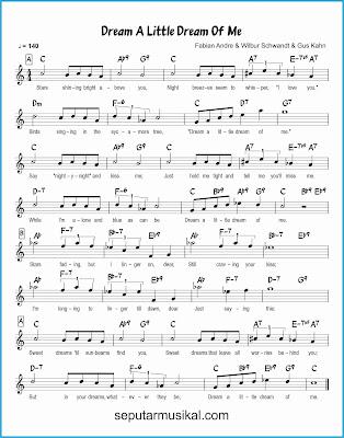 dream a little dream of me lagu jazz standar