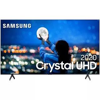 Smart TV 43'' Samsung Crystal UHD 43TU7000 4K 2020 - UN43TU7000GXZD