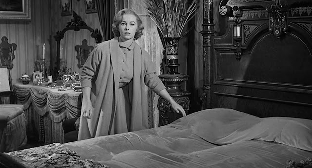 """Vera Miles em """"Psicose"""" (1960)"""