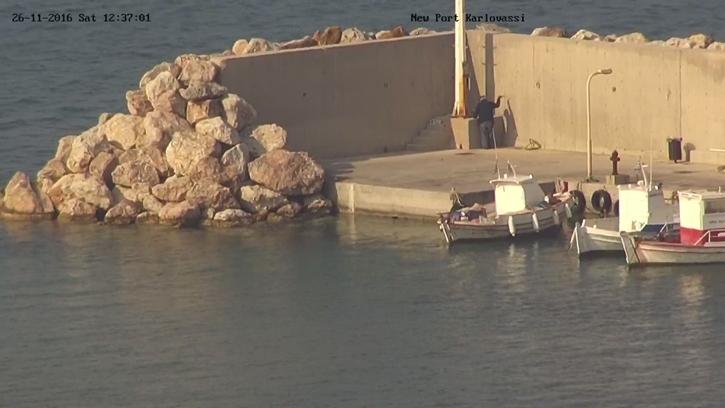 New Port Karlovassi: Σημερινες Ομορφες Εικονες απο το