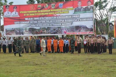 TMMD 104 di Mentawai,  4  Sasaran Fisik dan 24 Non Fisik
