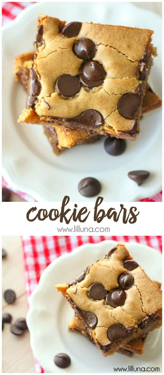 COOKIE BARS #recipes #dessertrecipes #easyrecipes #easydessertrecipes #food #foodporn #healthy #yummy #instafood #foodie #delicious #dinner #breakfast #dessert #lunch #vegan #cake #eatclean #homemade #diet #healthyfood #cleaneating #foodstagram