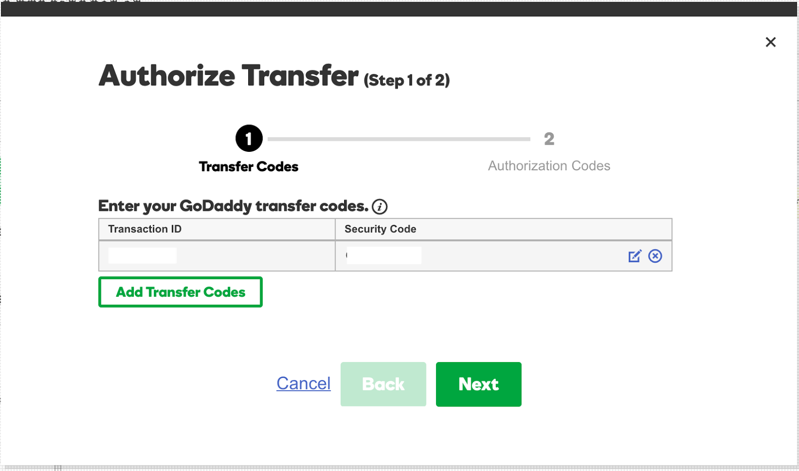 Buy GoDaddy domain transfers for up to of your domain names at once, listing each one on a separate line in our bulk domain transfer tool. If the extension you'd like to transfer isn't listed, you can't transfer that domain name to us.