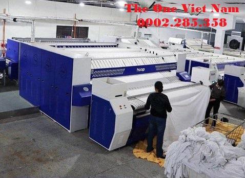 Cách chọn máy gấp ga, gấp khăn cho xưởng giặt