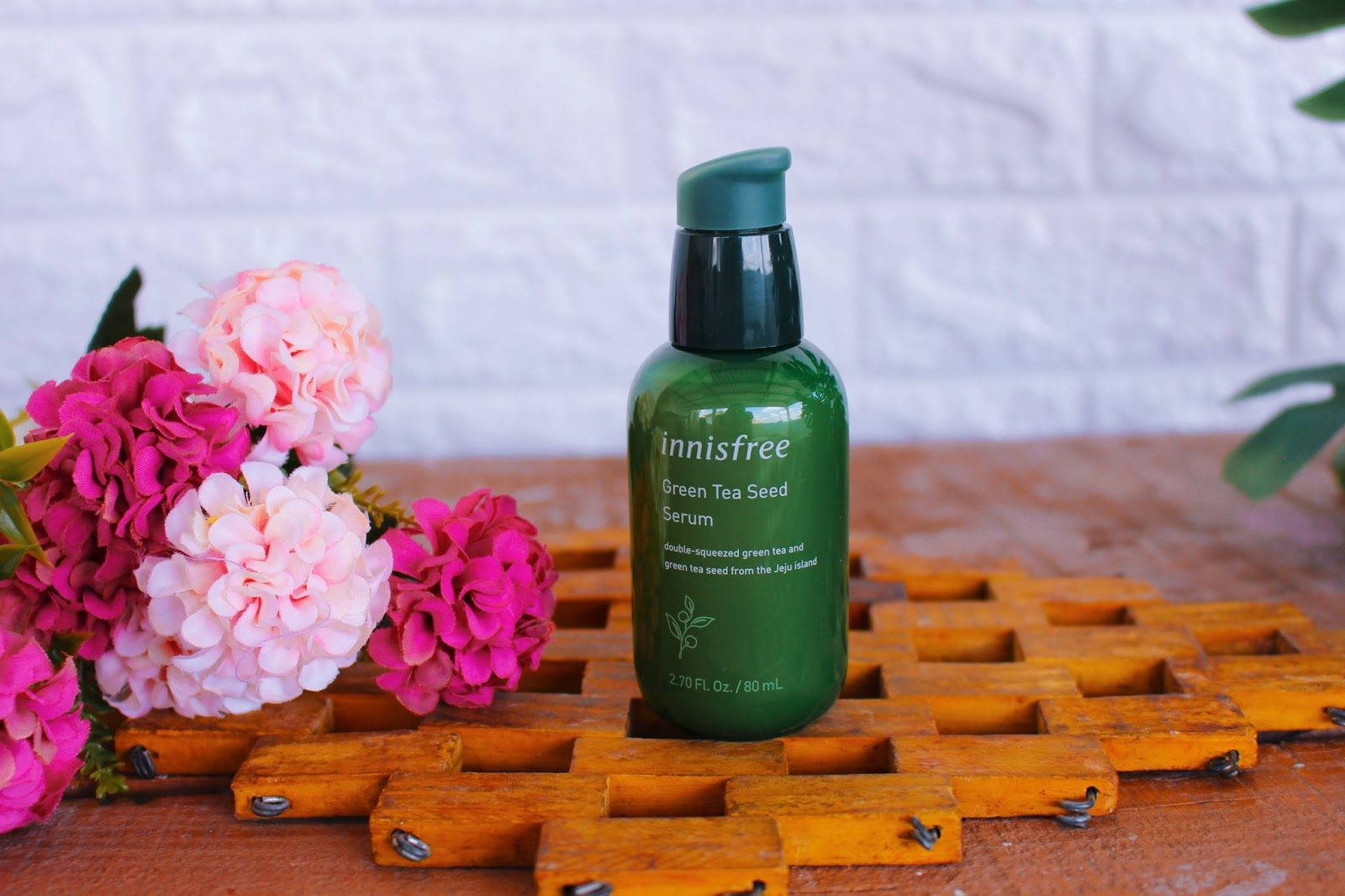 Resenha: Sérum Green Tea Seed da INNISFREE