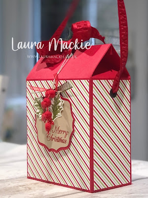 Gift Bag Box video tutorial