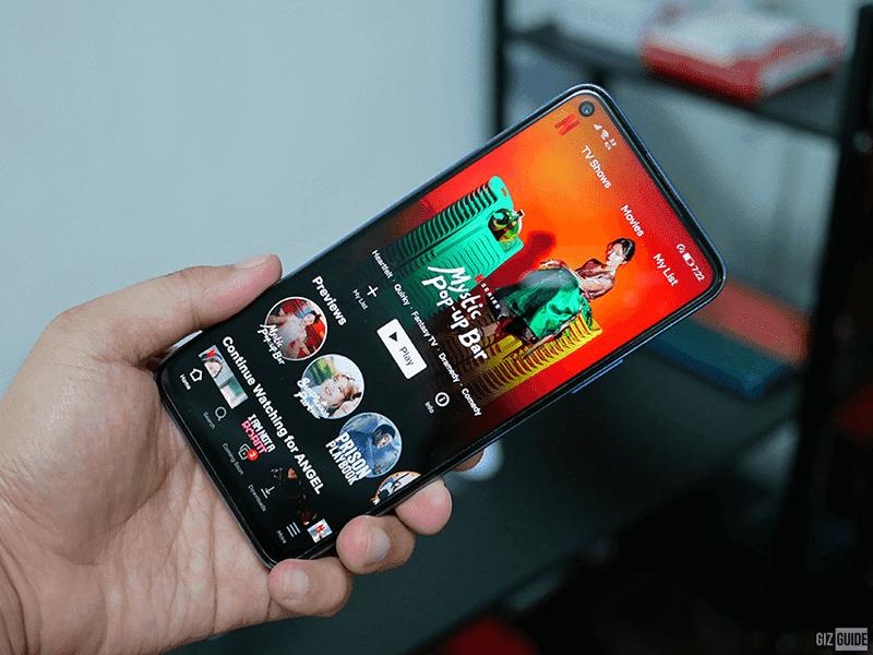 Huawei nova 7 SE 5G has a punch-hole too