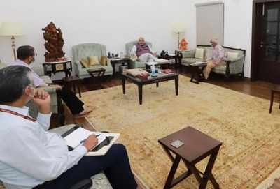 Home Minister Amit Shah Hold High level Meeting After Chhatisgarh Naxal Attack