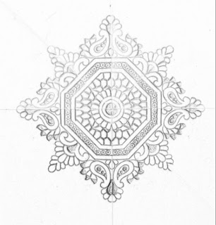 Drawings for hand emroidery saree designs/butta khaka design drawing flower type for hand emroidery saree designs. Embroidery designs pencil sketch on tracing paper