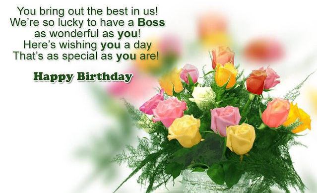 Birthday Wishes for Supervisor, Boss, Mentor, Team Leader, Sir and Lady