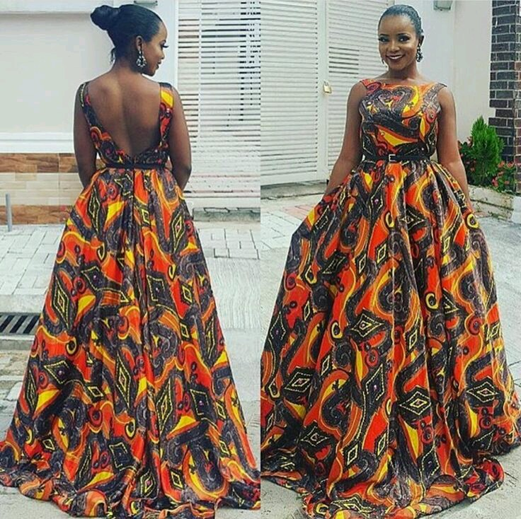 Current fashion maxi ankara dress styles download for Current wedding dress styles