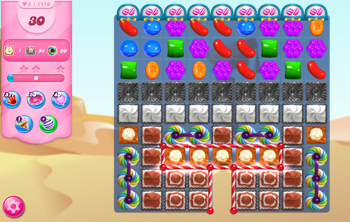 Candy Crush Saga level 7173