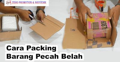 Begini nih cara aman packing barang pecah belah