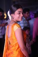 Shalini Pandey in Beautiful Orange Saree Sleeveless Blouse Choli ~  Exclusive Celebrities Galleries 015.JPG