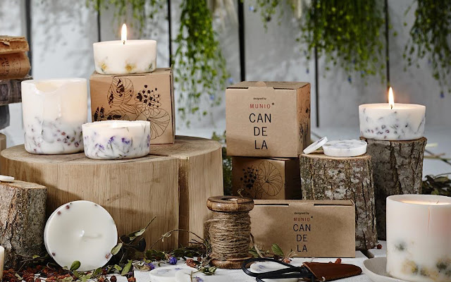 Candles by Munio Home India