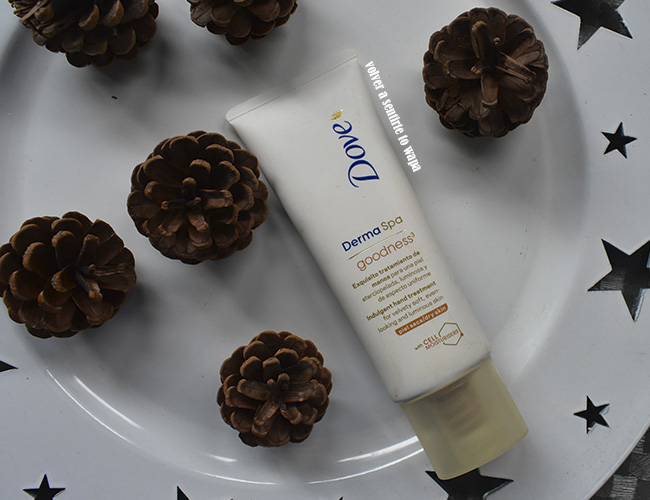 Crema de manos Dove Derma Spa Goodness