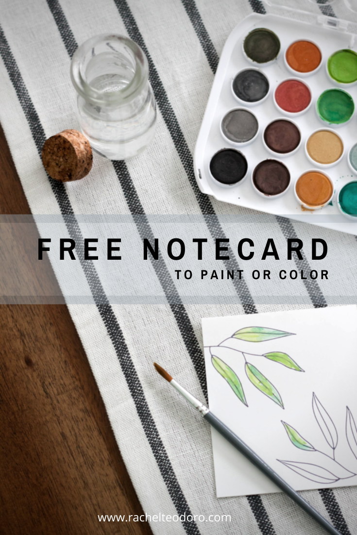 free notecards to send