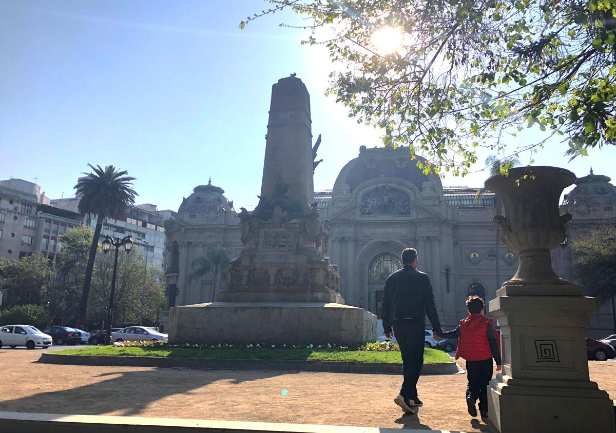 Chile com criança o que fazer em Santiago