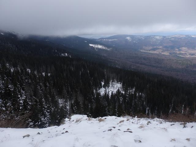 Próba zimowego wejścia na Babią, marzec 2016.