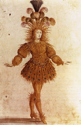 Apollo performed by Louis XIV, Ballet de la nuit 1653