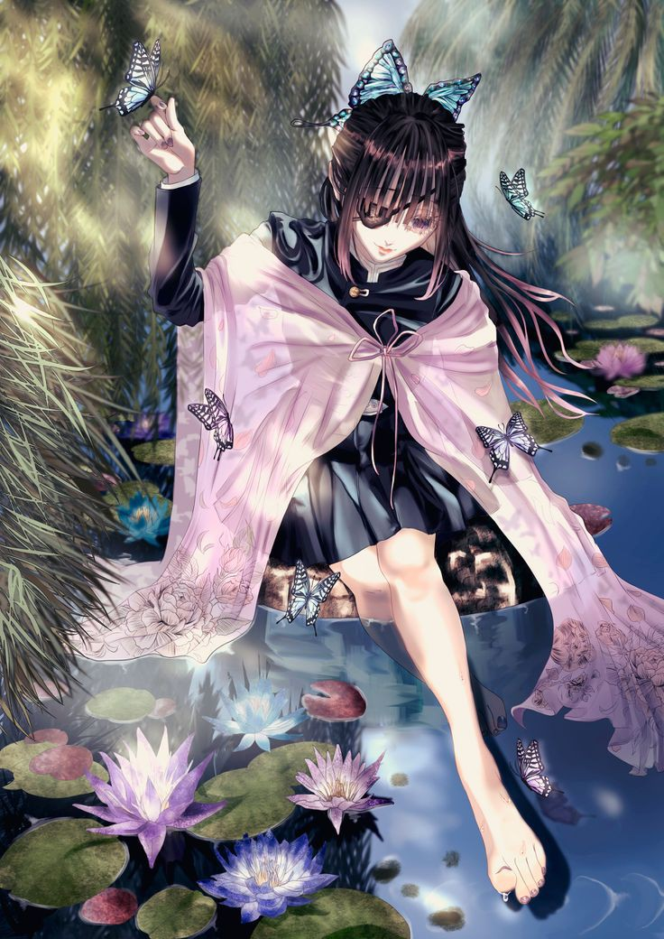 Demon Slayer (Kimetsu No Yaiba) Anime Girl Wallpapers ...