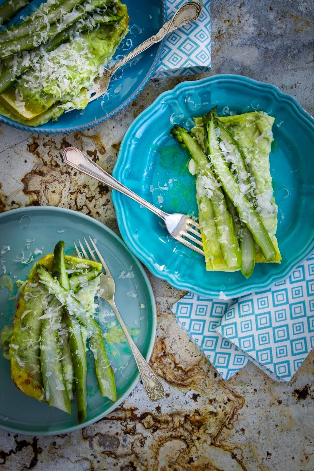 lasagne agli asparagi, gribaudo editore