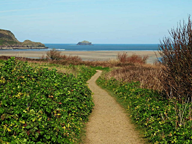 Coastal Path at Padstow, Cornwall