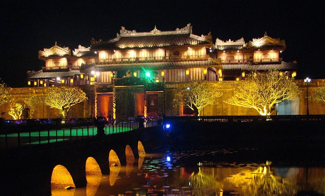 Hue Imperial Citadel officially to open at night from 22 April 2017 1