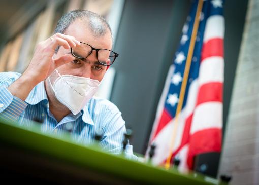 Le grand-maître international d'échecs américain Leinier Dominguez Perez - Photo © site officiel