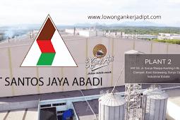 Lowongan Kerja PT Santos Jaya Abadi Indonesia (Kapal Api)