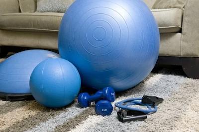 معدات اللياقة البدنية المنزلية