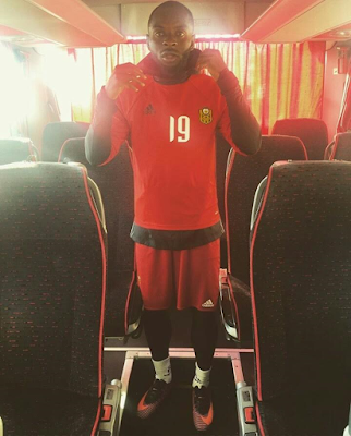 AFCON Cup Hero Sunday Mba stlish in new photos..
