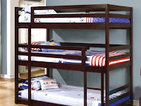 Triple Bunk Bed: Save Room Space Yet Comfy Enough for Your Kids Room
