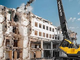 Разрушаване на сгради Бургас