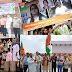 आगरा में स्वतंत्रता दिवस की जगह-जगह रही धूम, ऑनलाइन हुए सांस्कृतिक कार्यक्रम