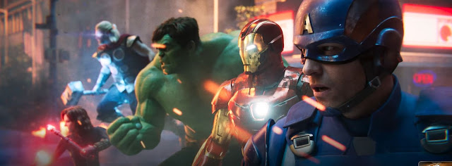 Marvel's Avengers CG Spot Official Trailer Crystal Dynamics Square Enix