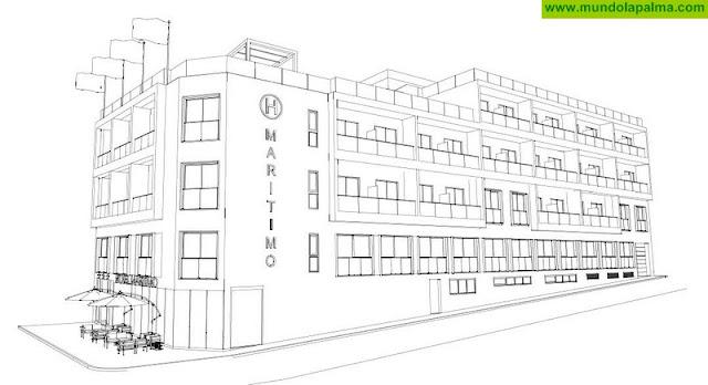 El Ayuntamiento de Santa Cruz de La Palma recibe la solicitud de licencia de obras para la reforma del Hotel Marítimo