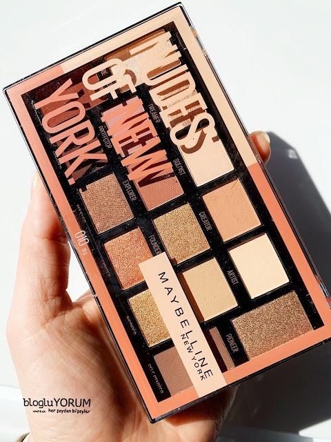 maybelline nudes of new york far paletini inceliyorum 4
