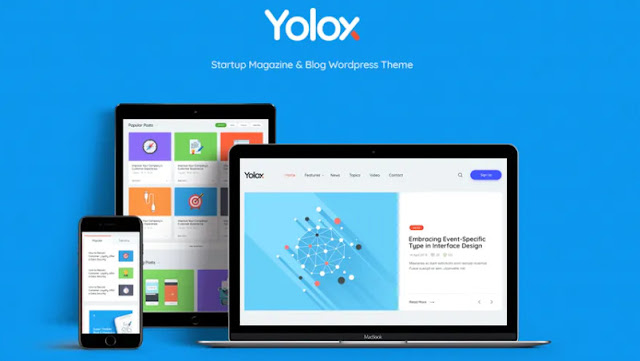 Free Download Yolox | Modern WordPress Blog Theme for Business