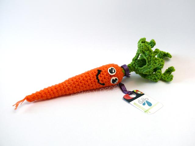 zanahoria amigurumi