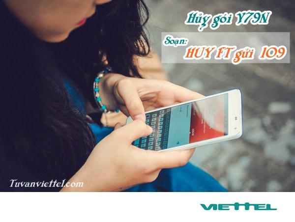 Hướng dẫn hủy gói cước V79N Viettel, tiết kiệm 79,000đ/ tháng