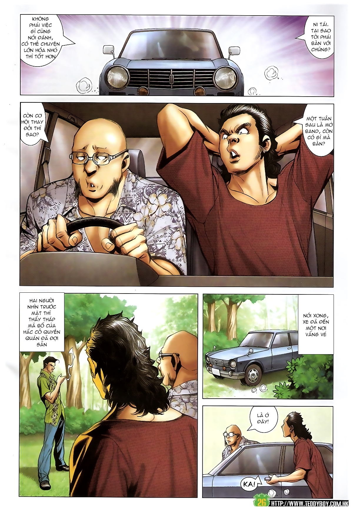 Người Trong Giang Hồ - Chapter 1397: Anh hùng cúi đầu - Pic 25