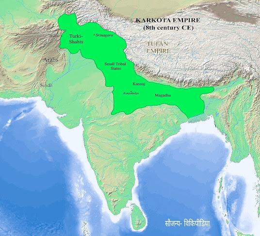 Lalitaditya Muktapeed dynasty, Lalitadity Muktapid history in hindi