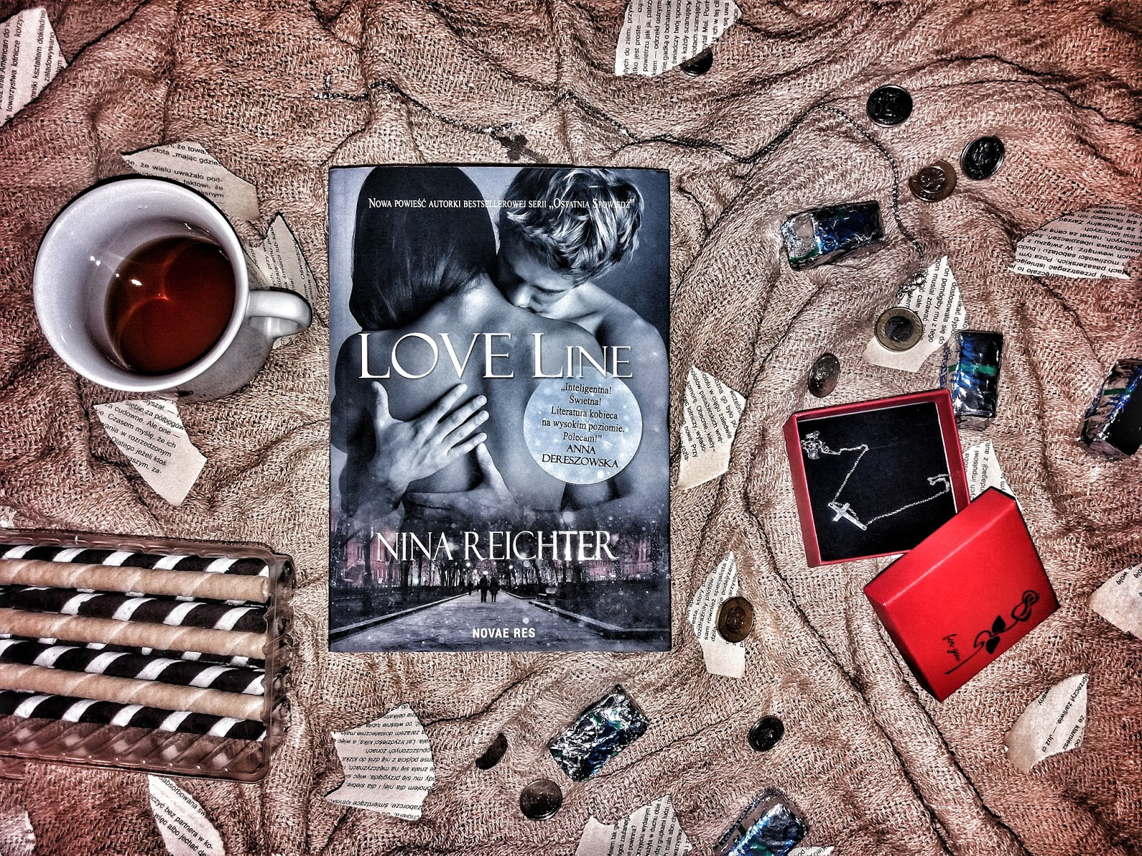 """""""LOVE Line"""" Nina Reichter   Recenzja"""