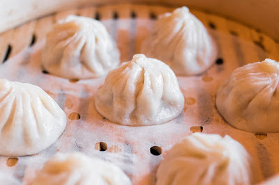Try out Shanghai Renjia xiao long bao that has filled with flavours and does not need vinegar or ginger to go with.