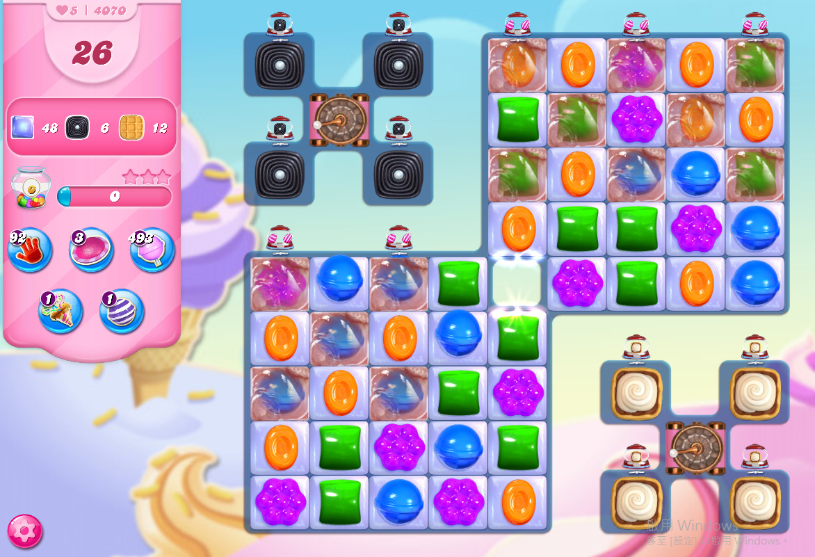 Candy Crush Saga level 4070
