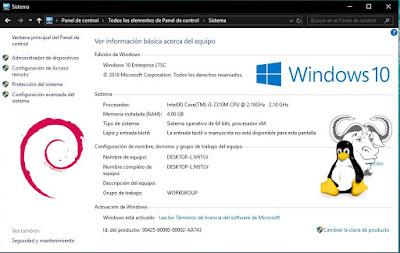 De vuelta instalar Linux junto a Windows 10 en dual boot
