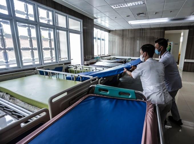Konversi Tempat Tidur Pasien Covid-19 di Rumah Sakit Ditargetkan Selesai Akhir Juni